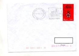 Lettre Flamme Ailly Saint Vincent De Paul - Poststempel (Briefe)