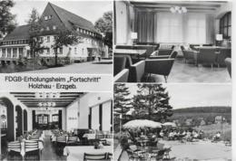 "AK 0412  Holzhau - FDGB-Erholungsheim "" Fortschritt "" / Ostalgie , DDR Um 1978 - Holzhau"