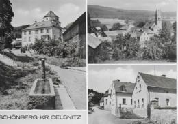 AK 0412  Schönberg ( Kreis Oelsnitz ) / Ostalgie , DDR Um 1977 - Oelsnitz I. Vogtl.