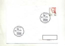 Lettre Cachet San Angelo Eglise Exposition Tartufo - Marcofilia - EMA ( Maquina De Huellas A Franquear)