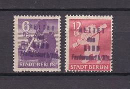 Deutsche Lokalausgaben - 1945/46 - Michel Nr. 69/70 - BPP Geprüft - Postfrisch - Soviet Zone
