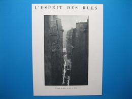 (1951) PARIS - L'Esprit Des Rues : A L'aube, La Petite Rue Fait Sa Toilette -- Notre-Dame De Ménilmontant Sous La Neige - Unclassified