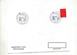 Lettre Cachet Paris Poste Etoile - Storia Postale