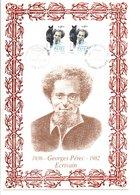 DOCUMENT GEORGES PEREC ECRIVAIN - Writers