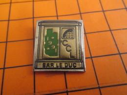 2619 Pin's Pins / Beau Et Rare / THEME FRANCE TELECOM / 1991 CCL BAR LE DUC CABINE TELEPHONIQUE - Telecom De Francia