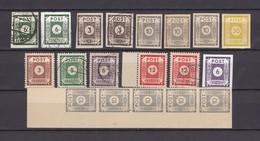 Ost-Sachsen - 1945/46 - Sammlung  - Postfrisch/Gest./Ungebr. - Zone Soviétique