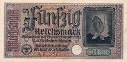 GERMANY -50 REICHSMARK 1940  P-R140  XF - [ 4] 1933-1945: Derde Rijk