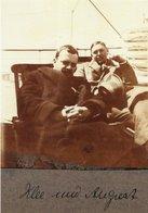 CT-03273- PAUL KLEE UND AUGUST MACKE AUF DER SCHFFSREISE VON MARSEILLE NACH TUNIS  1914 - Pittura & Quadri