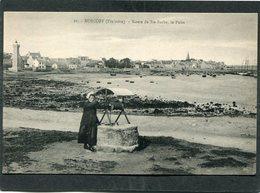 CPA - ROSCOFF - Route De Sainte Barbe - Le Puits, Animé - Roscoff