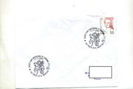 Lettre Cachet  San Gregorio Fete Saint Martin - Affrancature Meccaniche Rosse (EMA)