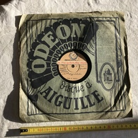 DISQUE A AIGUILLE ODEON SUZY SOLIDOR' SI L'ON GARDAIT ' 25 CM POCHETTE CARREE 26 CM - Muziek & Instrumenten