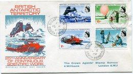 B. A. T. LETTRE AFFRANCHIE AVEC LES N°21 / 24 OBLITERATION SIGNY ISLAND FE 6  69 SOUTH ORKNEYS - Territoire Antarctique Britannique  (BAT)