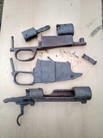Mauser Parts Neutralisé ...obus Projektil Spoletta Fusee GRENADE Mine - Armes Neutralisées