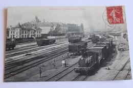 Lunéville - Vue Intérieure De La Gare - 1907 - Luneville