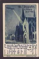 CPA Meurthe Et Moselle 54 Nancy Zeppelin Aviation Pierren écrite - Nancy