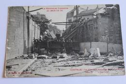 Lunéville - Les Allemands Font Sauter Le Pont De Ménil - Luneville