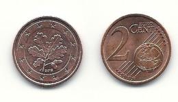 2 Cent, 2019,  Prägestätte (J),  Vz, Sehr Gut Erhaltene Umlaufmünzen - Deutschland