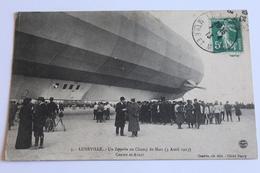 Lunéville - Un Zeppelin Au Champ De Mars (1er Avril 1913) 1919 - Luneville