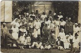 47 Nerac   Carte Photo  Militaires Campagne 1914-1915    Croix Rouge - Nerac