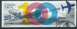ESPAGNE SPANIEN SPAIN ESPAÑA 2019 CENT AIR TRANSPORT (1919-2019) USED ED 5339 MI 5374 YT 5081 - 1931-Heute: 2. Rep. - ... Juan Carlos I