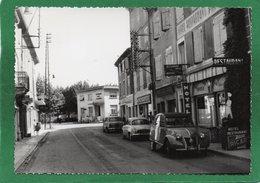 07 LA VOULTE SUR RHONE RUE BOISSY D'ANGLAS LA POSTE  AUTOMOBILES, 2 CV CITROEN Et  DAUPHINE Année 1960 - La Voulte-sur-Rhône