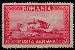 Romania 1928, Scott C6, MNH (Wmk Horizontal), Plane C. Raiu - Nuevos