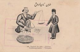 Iran - Traditional Professions - Vendeur De Pain - Teheran - Ed. Seyed Abdor Rahime Kachani * - Iran