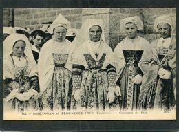 CPA - BRIGNOGAN Et PLOUNEOUR TREZ - Costumes De Fête - Brignogan-Plage