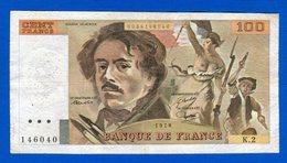 100 Fr  Du  1978   K2 - 1962-1997 ''Francs''
