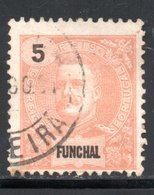 FUNCHAL - YT 14 OBLITERE - Funchal