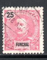 FUNCHAL - YT 20 OBLITERE - Funchal