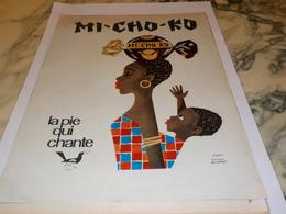 ANCIENNE PUBLICITE BONBON  MI CHI KO  LA PIE QUI CHANTE 1964 - Affiches