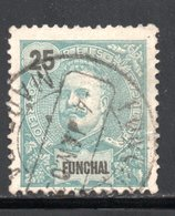 FUNCHAL - YT 19 OBLITERE - Funchal
