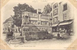 Blois, La Fontaine Louis XII - Blois