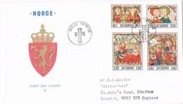 35514. Carta F.D.C. OSLO (Norge) Noruega 1975. Navidad. Christmas, Religion - FDC