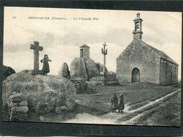 CPA - BRIGNOGAN - La Chapelle Pol, Animé - Brignogan-Plage
