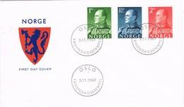 35515. Carta F.D.C. OSLO (Norge) Noruega 1969. King OLAV V - FDC
