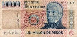 ARGENTINA 1000.000 PESOS LEY 1982  P-310 - Argentina