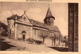Vic  Sur  Cère -  L' église. - Saint Flour