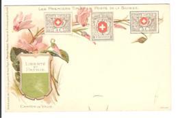 SUISSE - TIMBRES - Les Premiers Timbres Postes De La Suisse - Canton De Vaud - Briefmarken (Abbildungen)