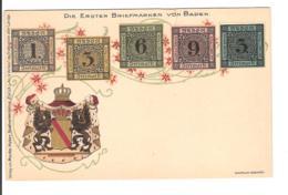 ALLEMAGNE - TIMBRES -  Die Ersten Briefmarken Von BADEN - Briefmarken (Abbildungen)