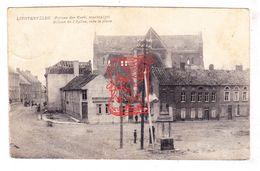 PK 2x Lichtervelde - Sint-Jacobuskerk En Markt WO I 14-18 / Ed. Sintobin (Kerk) - Lichtervelde