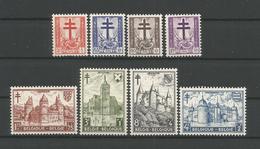 Belgium 1951 Anti Tuberculosis OCB 868/875 ** - Belgique