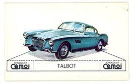 Chromo Chocolat Cemoi ( Automobile): Talbot - Chocolat