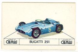 Chromo Chocolat Cemoi ( Automobile ): Bugatti 251 - Schokolade