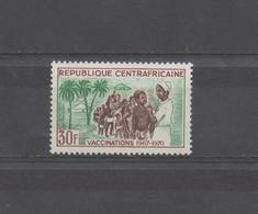 Campagne De Vaccination 1967-1970 XXX - Centrafricaine (République)