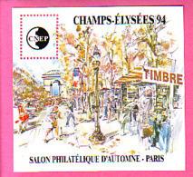 BLOC CNEP N° 19 ** NEUF LUXE 48° SALON PHILATELIQUE AUTOMNE PARIS 1994 CHAMPS ELYSEES MARCHE TIMBRES - CNEP