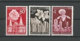 Belgium 1955 Gentse Floralien OCB 961/963 ** - België