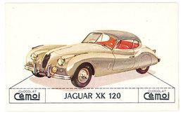 Chromo Chocolat Cemoi ( Automobile ): Jaguar XK 120 - Chocolat