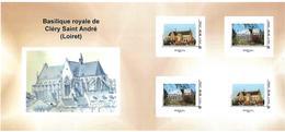FRANCE CARNET COLLECTOR BASILIQUE ROYALE CLERY ST ANDRE NON PLIE TB VOIR SCANS - Frankreich